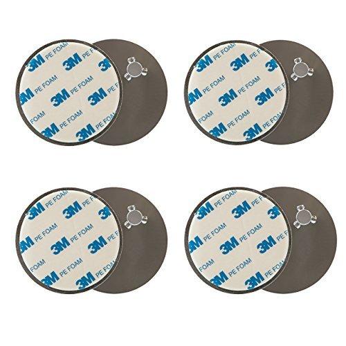 lumaland-kit-de-fixation-magnetique-pour-detecteur-de-fumee-4-pieces