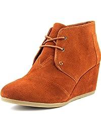 Toms desierto Zapato de cuña ocasional