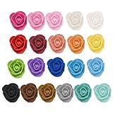 Webla-Foam Multicolor Rose Blume Geschenke 50 STÜCKE für Hochzeit Geburtstag Muttertag