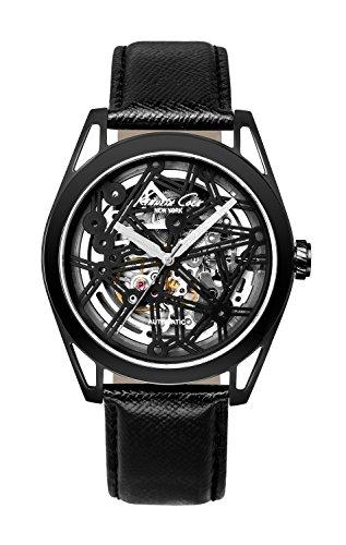 kenneth-cole-homme-44mm-automatique-noir-cuir-bracelet-montre-kc8083