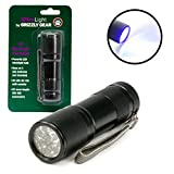 #1: Ultra Light Blacklight Uv Flashlight - Ultraviolet Led Torch
