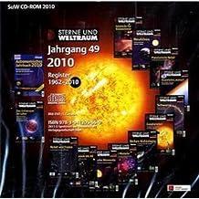 Sterne und Weltraum Jahrgang 49, 2010. CD-ROM: Register 1962-2010. Ahnerts Astronomisches Jahrbuch 2010