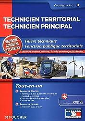 Technicien territorial - Technicien principal Catégorie B. Nouveau concours et examens