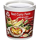 Cock Brand Pasta de Curry Roja - 4 Paquetes de 400 gr - Total: 1600 gr