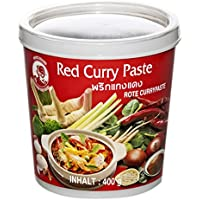 Cock Brand Pasta de Curry Roja - 400 gr