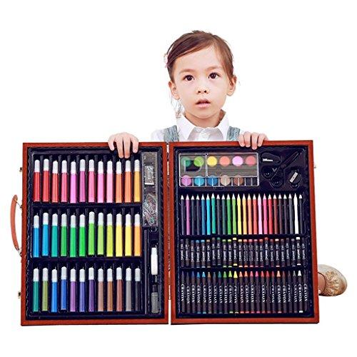150 STÜCKE Deluxe Buntstifte Farben Stifte Bleistifte Sets Professionelle Kinder Kunst Malen Set...