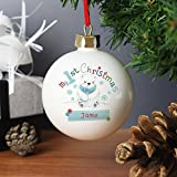 personalisierbar My First Christmas–Polar Bear Design, Weihnachtsbaumschmuck, Baby 's 1st Christmas, Baby Christmas Gifts