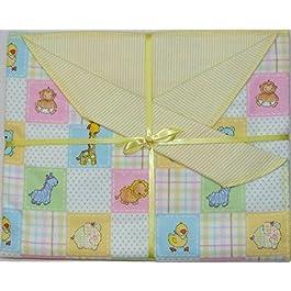 Baby Critters Baby Decke Decke für Mädchen. Ideal für Neugeborene oder Kleinkinder. Baby Geschenk.