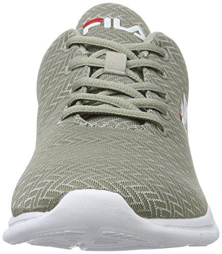 Fila Herren Base Maschile Fury Run 2 Basso Sneaker Grau (rock Del Castello)