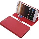 Cover for Alcatel A3 XL book-style red case