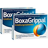 Sparset Boxagrippal 2 x 20 Filmtabletten preisvergleich bei billige-tabletten.eu