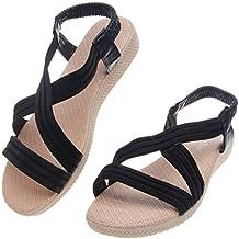 Top-Sell Sandalias De Tacón Plano Para Mujer Sandalias De Gladiador