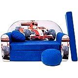 Welox C2– Sofá infantil 3 en 1, convertible en cama, con sillón