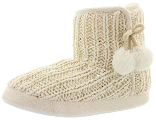 MIK Funshopping - Pantofole Donna Off White Multi