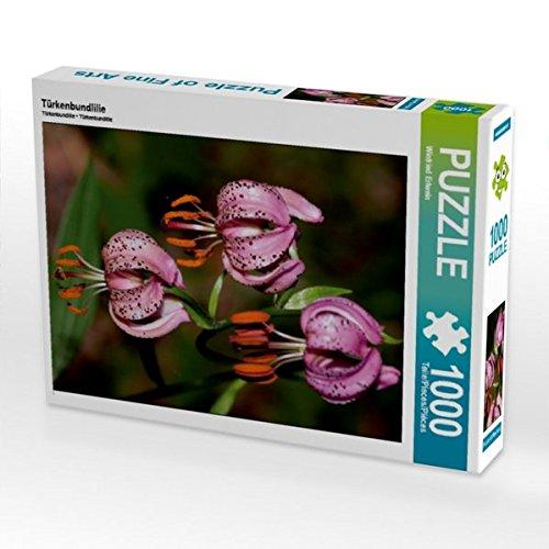 Türkenbundlilie 1000 Teile Puzzle hoch