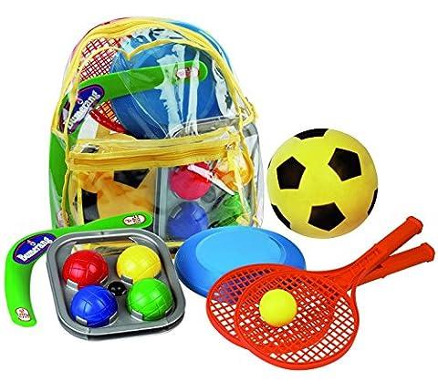 Kinder Sommer Spielzeug Softball Boomerang Boccia Frisbee Soft Tennis
