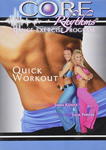 Preisvergleich Produktbild Quick Workout - Core Rhythms Dance Exercise Program (with Jaana Kunitz and Julia Powers)
