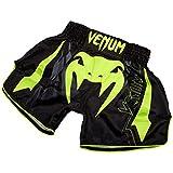 Venum Herren Sharp 3.0 Boxen Shorts, Schwarz/Neon Gelb, M