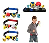Pokemon Go Pokeball Game Toy With Belt Adjustable Chritmas Gifts