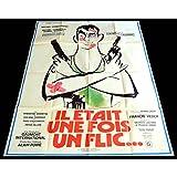 IL ETAIT UNE FOIS UN FLIC Affiche de film 120x160-1972 - Mireille Darc, Georges...