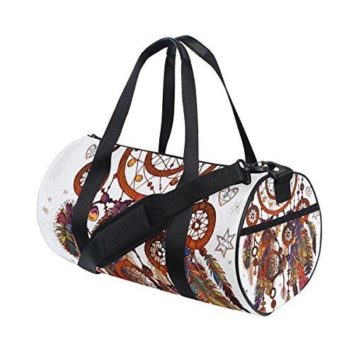 jstel Magic símbolo Atrapasueños bolsa de deporte gimnasio para hombres y mujeres bolsa de viaje de viaje