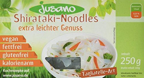 Preisvergleich Produktbild Jusano Shirataki Noodles - Tagliatelle,  5er Pack (5 x 250 g)