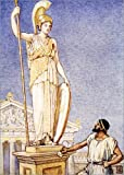 Poster 70 x 100 cm: The figure of the goddess was a colossal one by Walter Crane / Bridgeman Images - high quality art print, new art poster