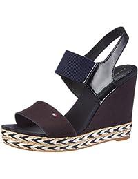 9476e363899 Amazon.fr   Tommy Hilfiger - Sandales   Chaussures femme ...