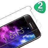 Miuphro Verre Trempé Protection Écran pour Samsung Galaxy S7 [Lot de 2], Couverture...