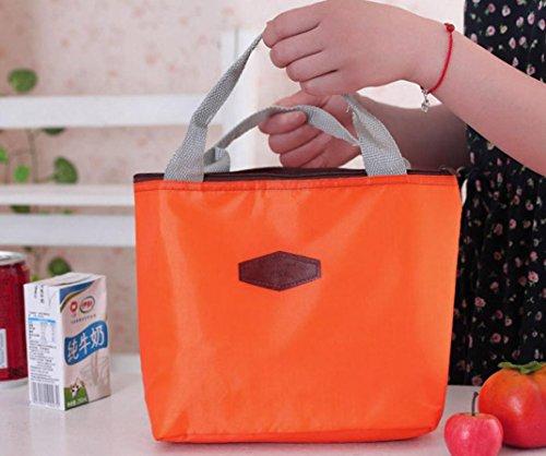Rawdah , Damen Rucksackhandtasche blau blau Orange