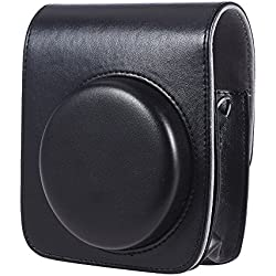 Andoer Housse Sac de Caméra en Vintage PU protection pour Fujifilm Instax mini90 camera