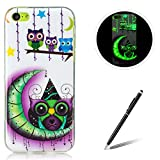 Feeltech for Apple iPhone 5C TPU Case Coque Housse Luminous Noctilucent Green Glow...