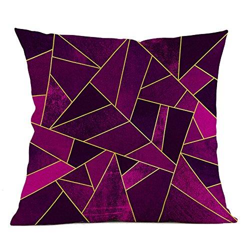 Fghyh Wurfkissen Geometrische Kissenbezug Taille Kissenbezug Sofa Home Decor Fall Sofa Auto Kissenbezüge Home Bed Decor (B) -