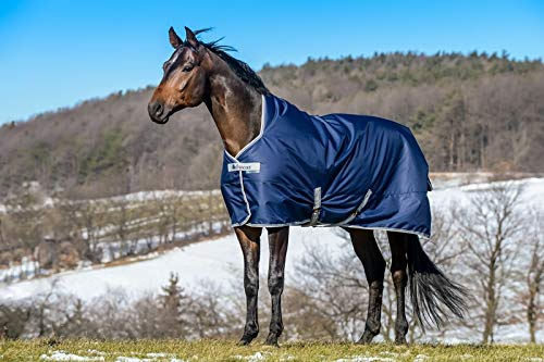 Bucas Freedom Turnout Medium High Neck 150g - navy, Groesse:165