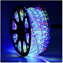 Mufasa 3014-120 Led Waterproof Strip Rope Pipe Light SMD Roll (120 Led/Mtr) (Multicolor, 5 Meter)