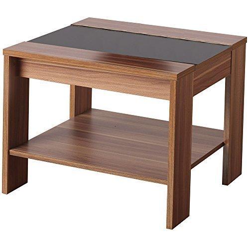 hollywood-placage-noyer-et-noir-brillant-lampe-de-table