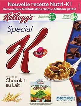 Kellogg's Céréales Spécial K Chocolat au Lait 300 g