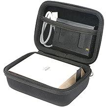 Khanka Duro Viaje Estuche Bolso Funda para Fujifilm Instax Share SP-2 Silver EX D - Impresora para smartphone