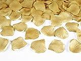 Deko - Rosenblätter zum streuen 100 Stück Hochzeit Tischdeko (gold)