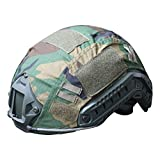 Protection de casque pour airsoft, paintball, combat militaire tactique, équipement pour tir, chasse, pour casques de balistique Ops-Core, mixte, Motif camouflage