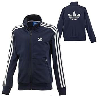 Adidas Originals Boys Junior Boys Firebird Jacket In Navy - 9-10 Adidas Originals Amazon.co.uk ...