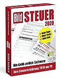 BILD Steuer 2020, Geld-zurück-Software für die Steuererklärung 2019, einfache Steuersoftware, CD für Windows 10 & 8 -