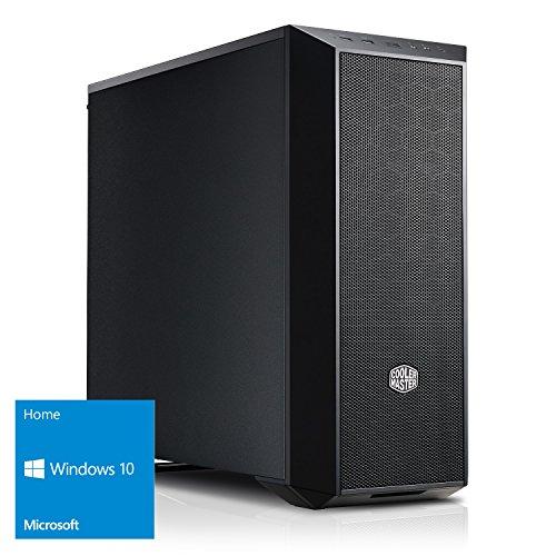 Kiebel Dark Rock 8.0 [184657] Gamer-PC i7-8700K (6x3.7GHz / Turbo 4.7GHz) | 16GB DDR4-2666 HyperX | nVidia GTX 1080 8GB GDDR5X | 250GB M.2 SSD + 1TB HDD | MSI Z370 | USB3 | DVD | Sound | LAN | Gaming | Computer
