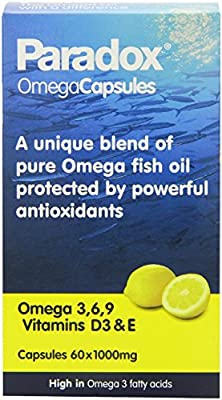 THREE PACKS of Paradox Omega 3:6:9 Oil Capsules 60s from PARADOX OMEGA OILS LTD