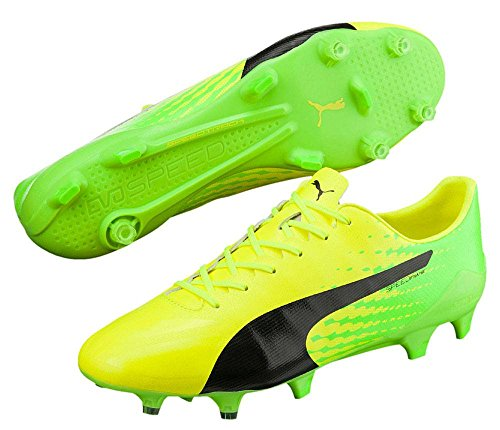 Puma Evospeed 17 Sl S Fg, Chaussures de Football Homme jaune