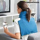 innovagoods ig812843–cuscinetto elettrica per collo e spalle 40x 40cm 60W Blu