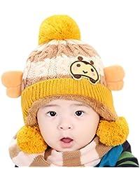 AnKoee Mignon Enfants d hiver Bébé Chapeaux,Bonnet pour Bébé Fille Garçon 679b6701e7e
