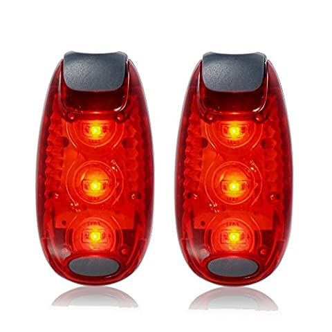 LED Safety Light Red Flashing with Free