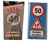 Schokoladen-Set 2 Tafeln zum 50. Geburtstag