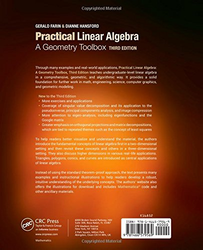 Practical Linear Algebra: A Geometry Toolbox, Third Edition